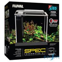 Spec III Black Glass Aquarium | 2.6 Gal