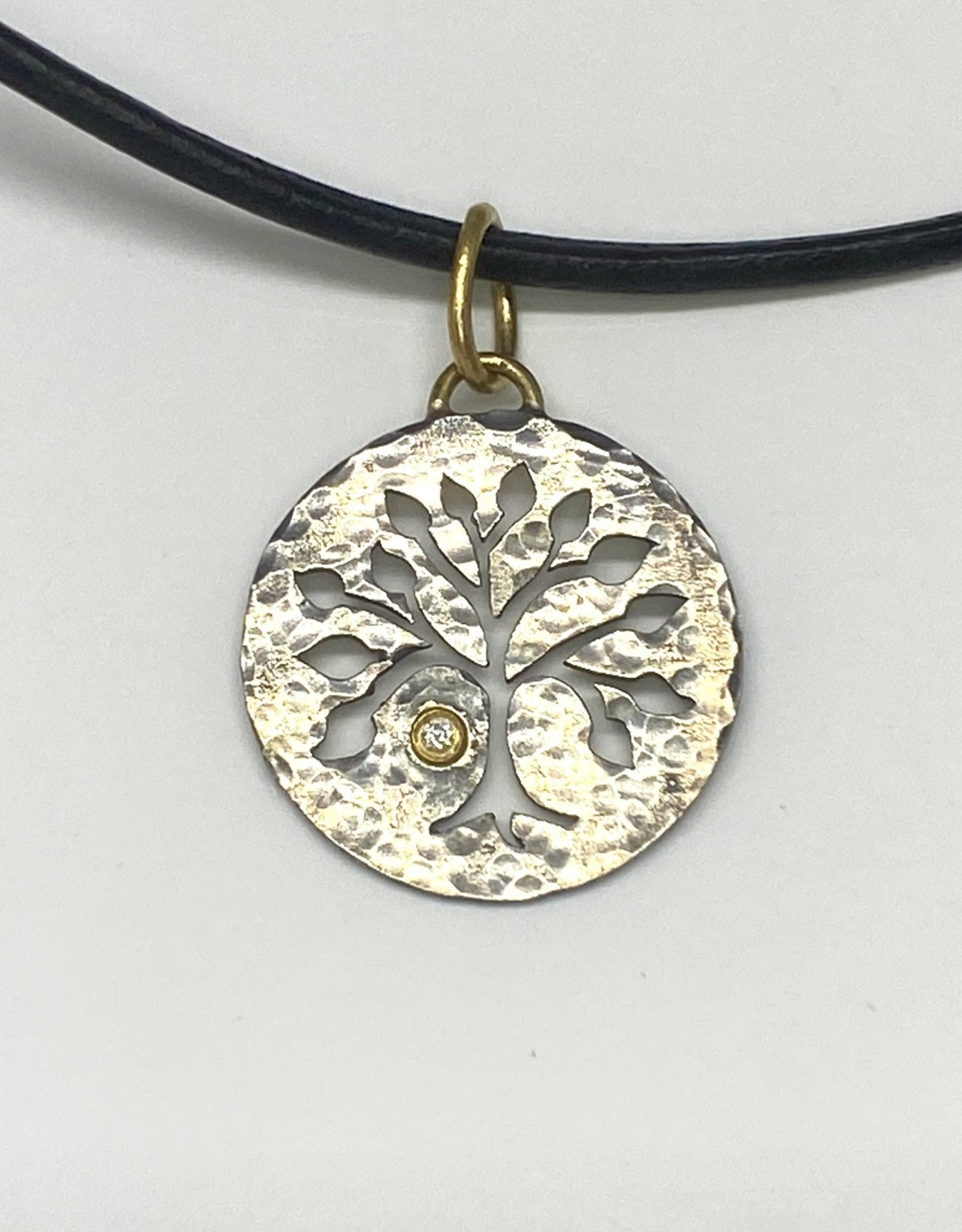 Prehistoric Works Tree of Life Diamond Charm