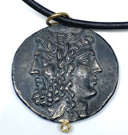 Prehistoric Works Janus&Janus Pendant