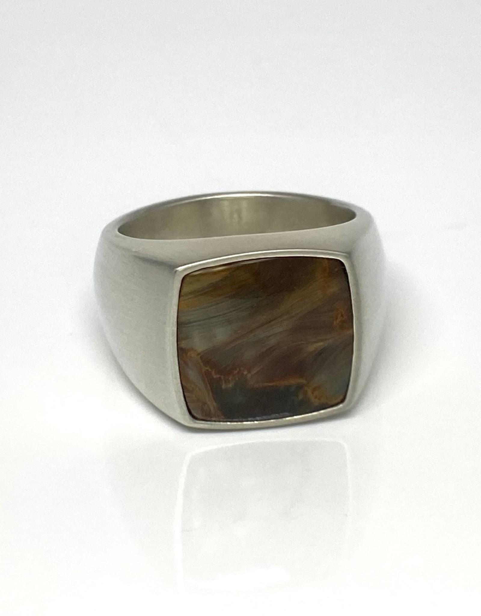 Nobles Metales Modern Man Stone Tigers Eye-10