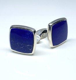 Nobles Metales Cuff Links Lapis Lazuli