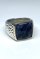 Nobles Metales Modern Man Textured Stone Sodalite