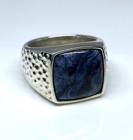 Nobles Metales Modern Man Textured Stone Sodalite