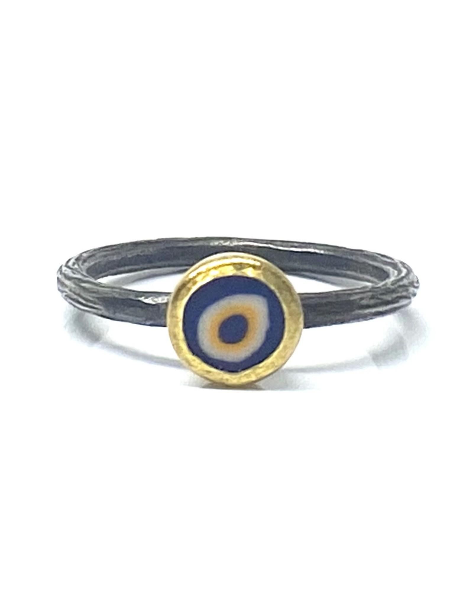 Prehistoric Works Evil Eye Ring