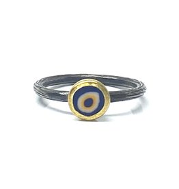 Prehistoric Works Evil Eye Ring