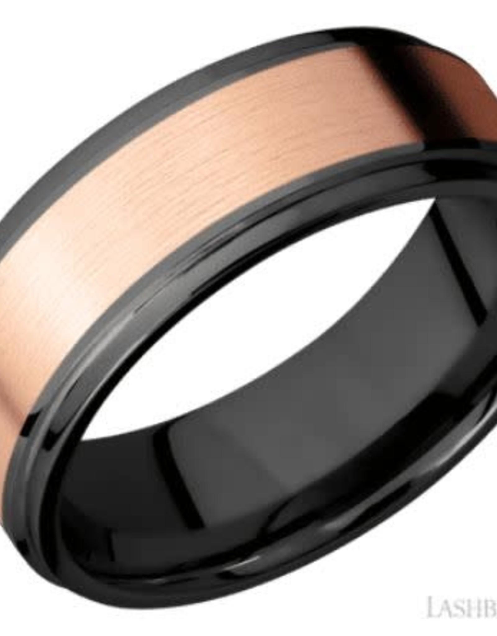 Lashbrook Zirconium Gold Inlay