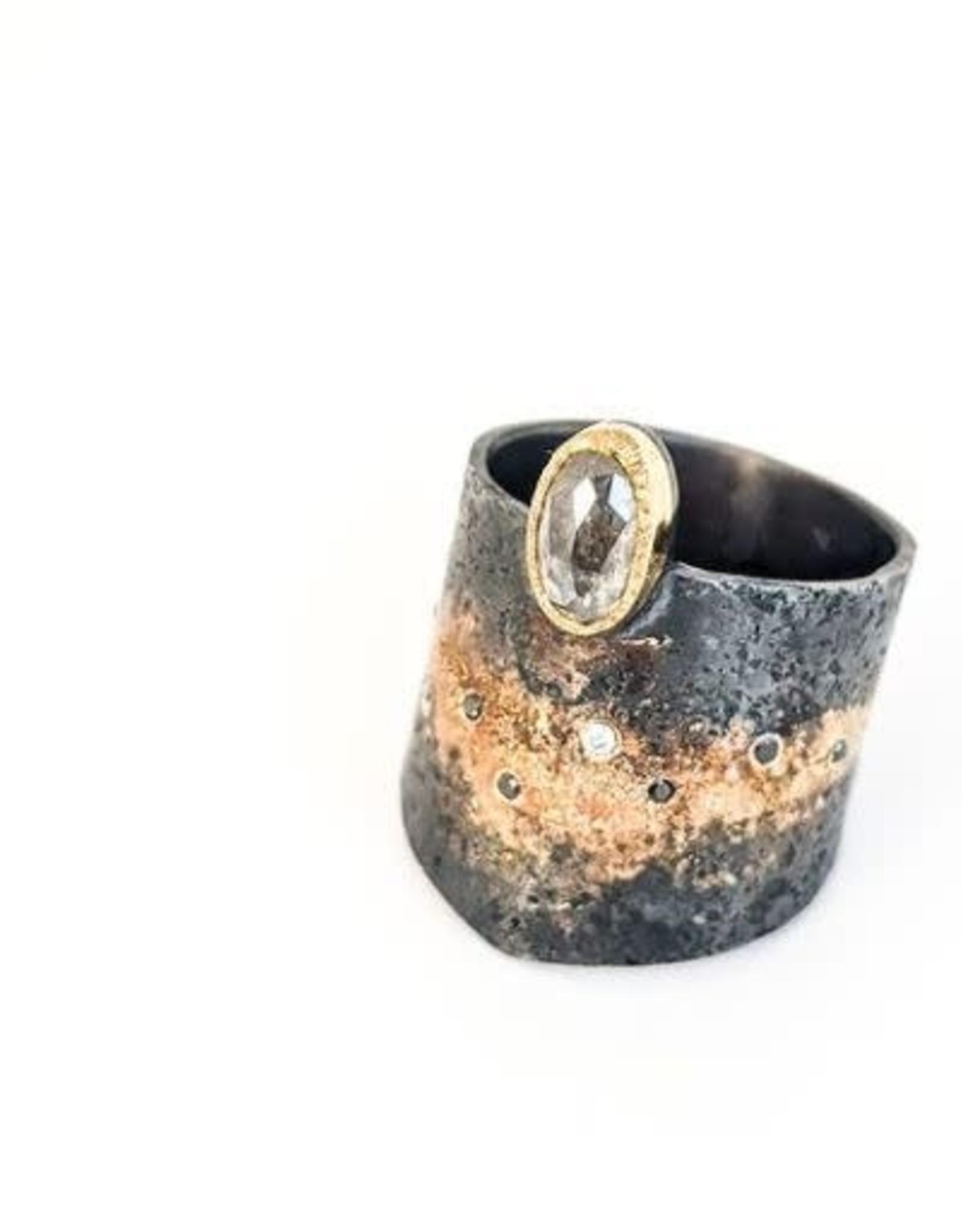 Rocky Pardo Jewelry Diamond Gold Dust Band