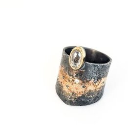 Rocky Pardo Jewelry Diamond Gold Dust Band