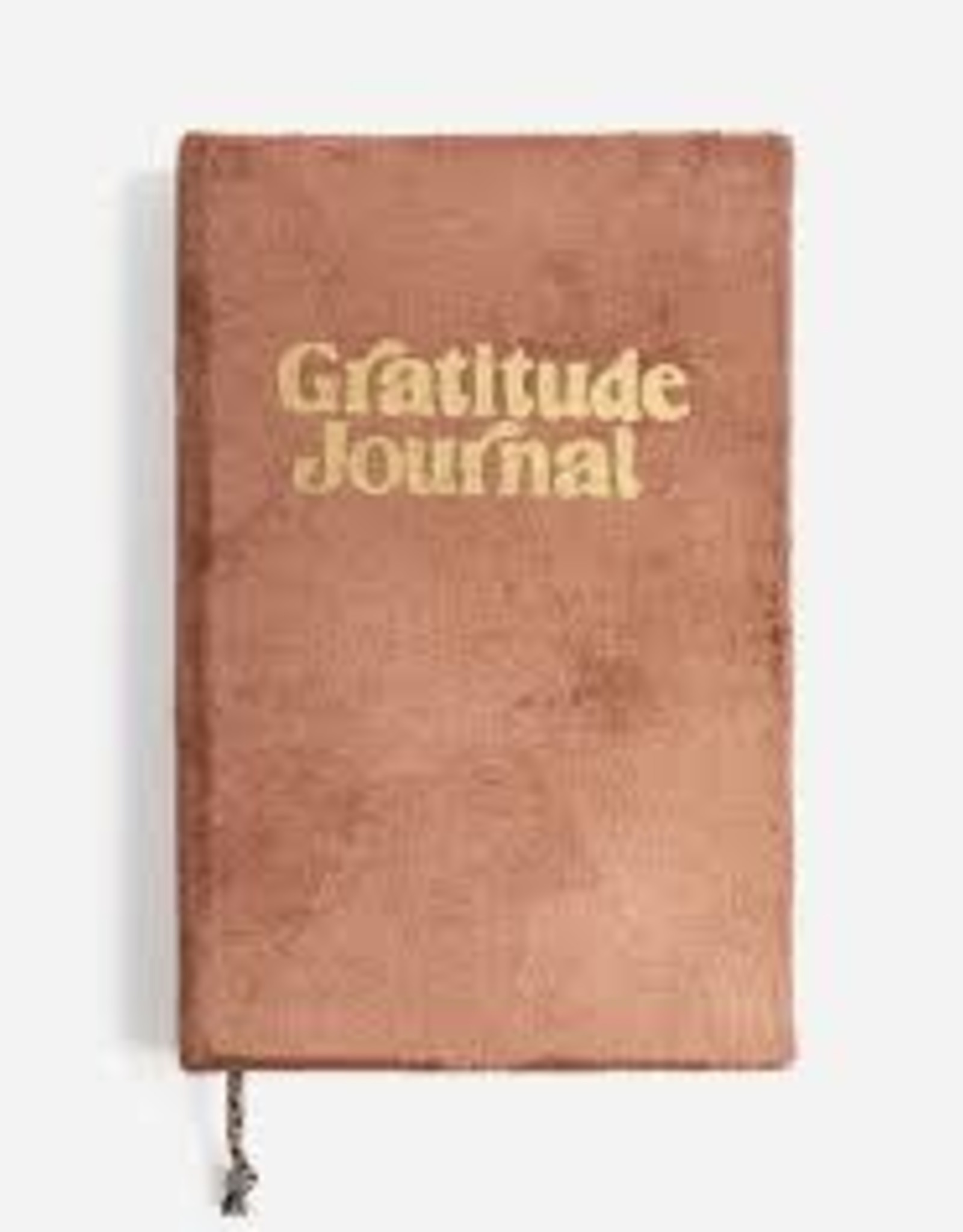 Printfresh Gratitude Journal Blush Pink Velvet