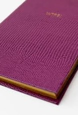 "Sloane Stationery ltd Pocket notebook ""WTF?"" Plum"