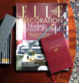 "Sloane Stationery ltd Pocket notebook ""Don't Forget"" Maroon"