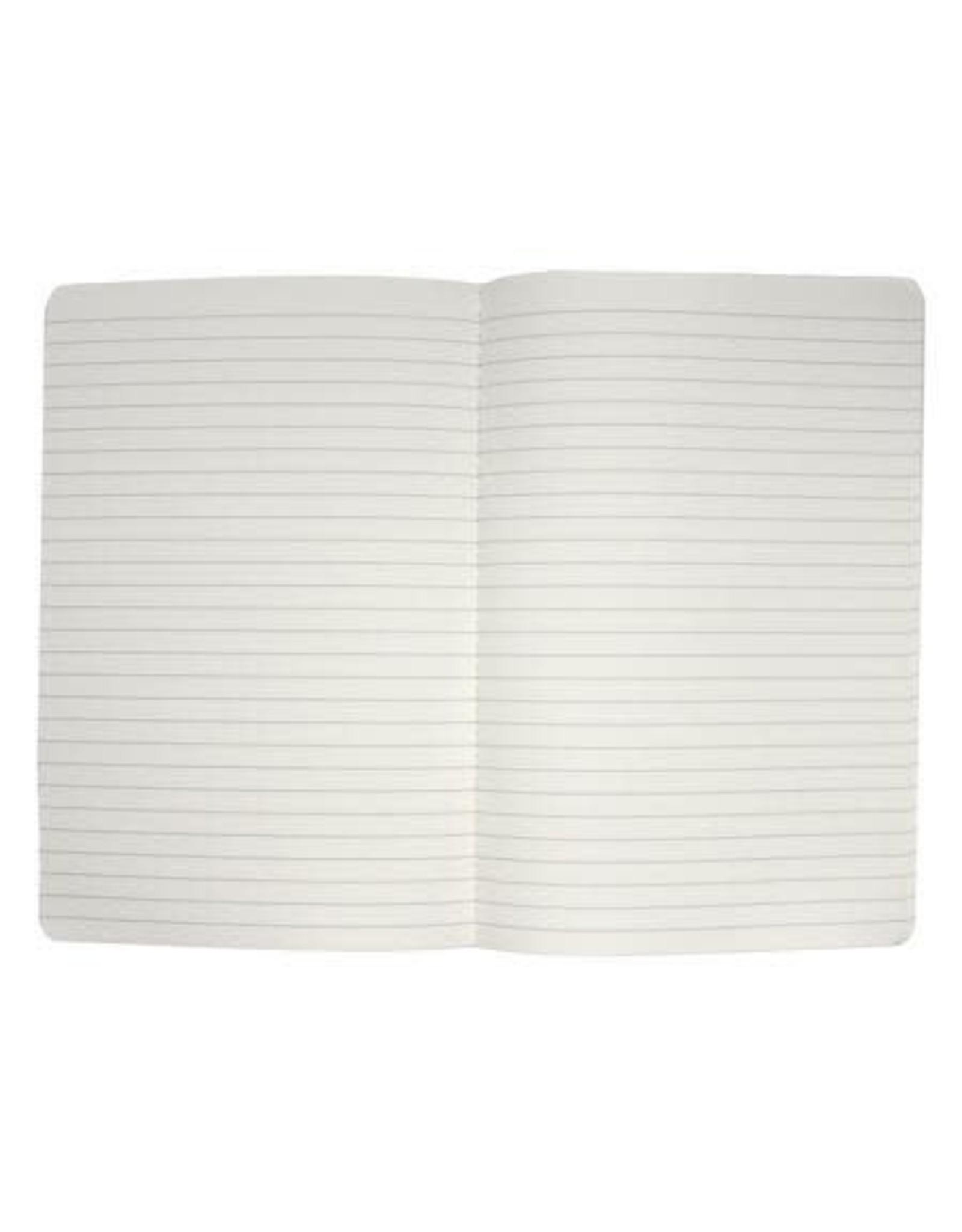 """Sloane Stationery ltd Softcover notebook """"Secret Notes"""" Sky Blue"""