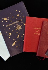 """Sloane Stationery ltd Softcover notebook """"Organised Chaos"""" Navy"""