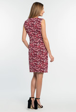 Nic+Zoe Nic+Zoe Bright Burst Twist Dress in Pink Multi