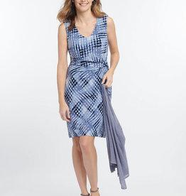 Nic+Zoe Nic+Zoe Cross Over Twist Dress