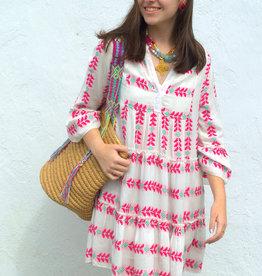 Elan Arrow Print Tunic Dress