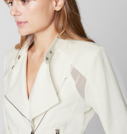 BlankNYC BlankNYC So Icy White Moto Jacket