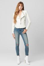 BlankNYC BlankNYC So Icy White Moto Jacket