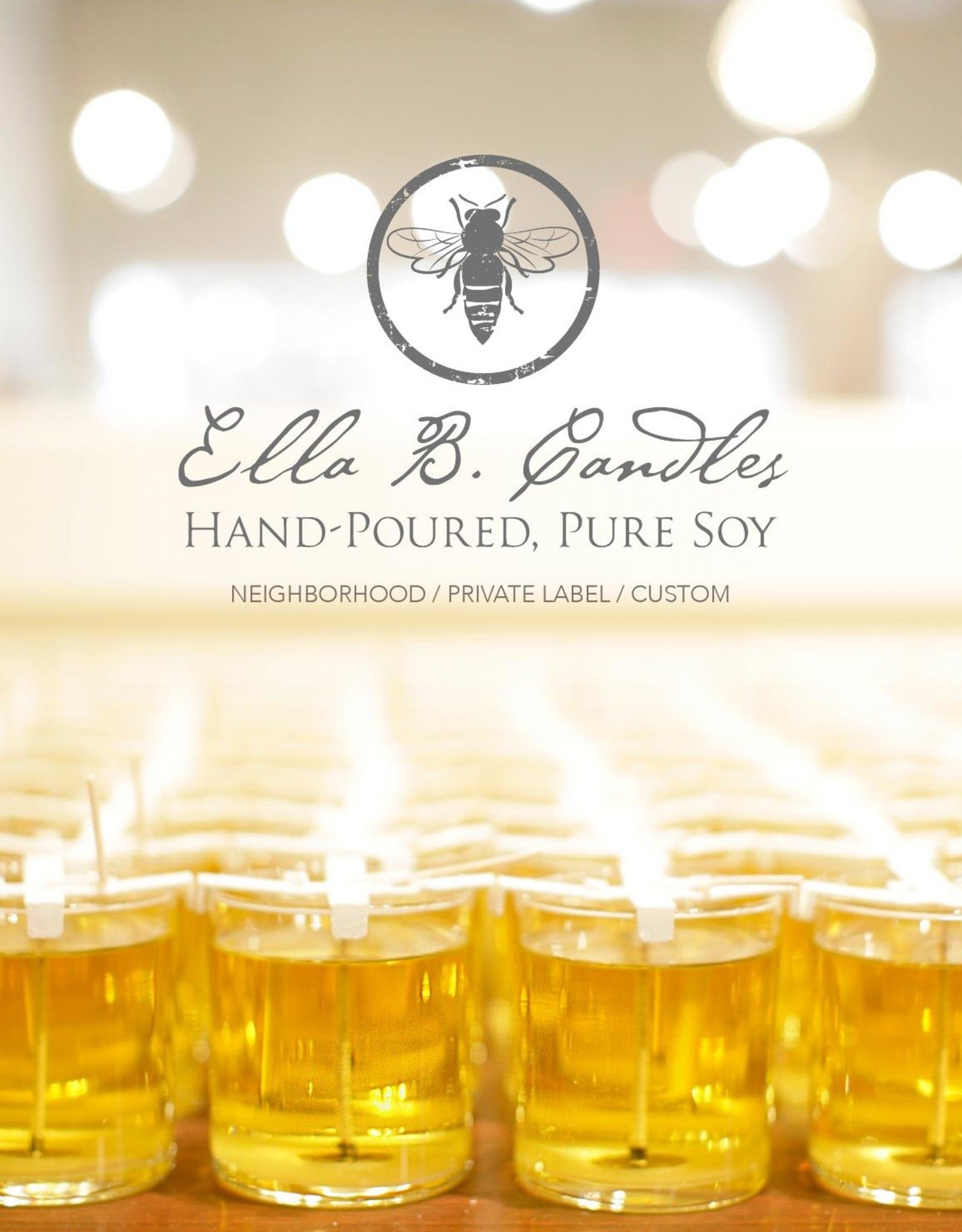 Ella B candles Sweet Friend Hand Poured Soy Candle by Ella B Candles