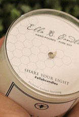 Ella B candles Happy Birthday Hand Poured Soy Candle by Ella B Candles