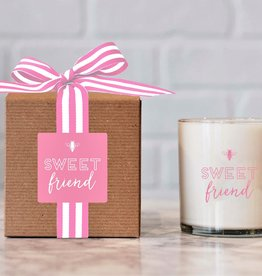 Ella B candles Sweet Friend Hand Poured Soy Candle