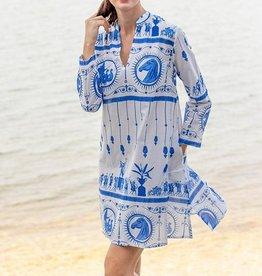 Tizzie by Dizzy Lizzie Tizzie Antiquities Tunic Dress