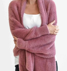 Mersea Chalet Rose Faux Fur Wrap