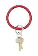 Big O Key Rings / Oventure Leather Embossed Big O Key Rings