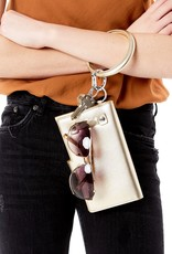 Big O Key Rings / Oventure Leather  Metallic Big O Key Rings