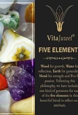 Gem Water Gem-Water FIVE ELEMENTS Water Bottle by VitaJuwel