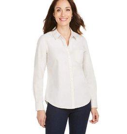 Foxcroft Foxcroft Hampton Non-Iron Pinpoint Shirt