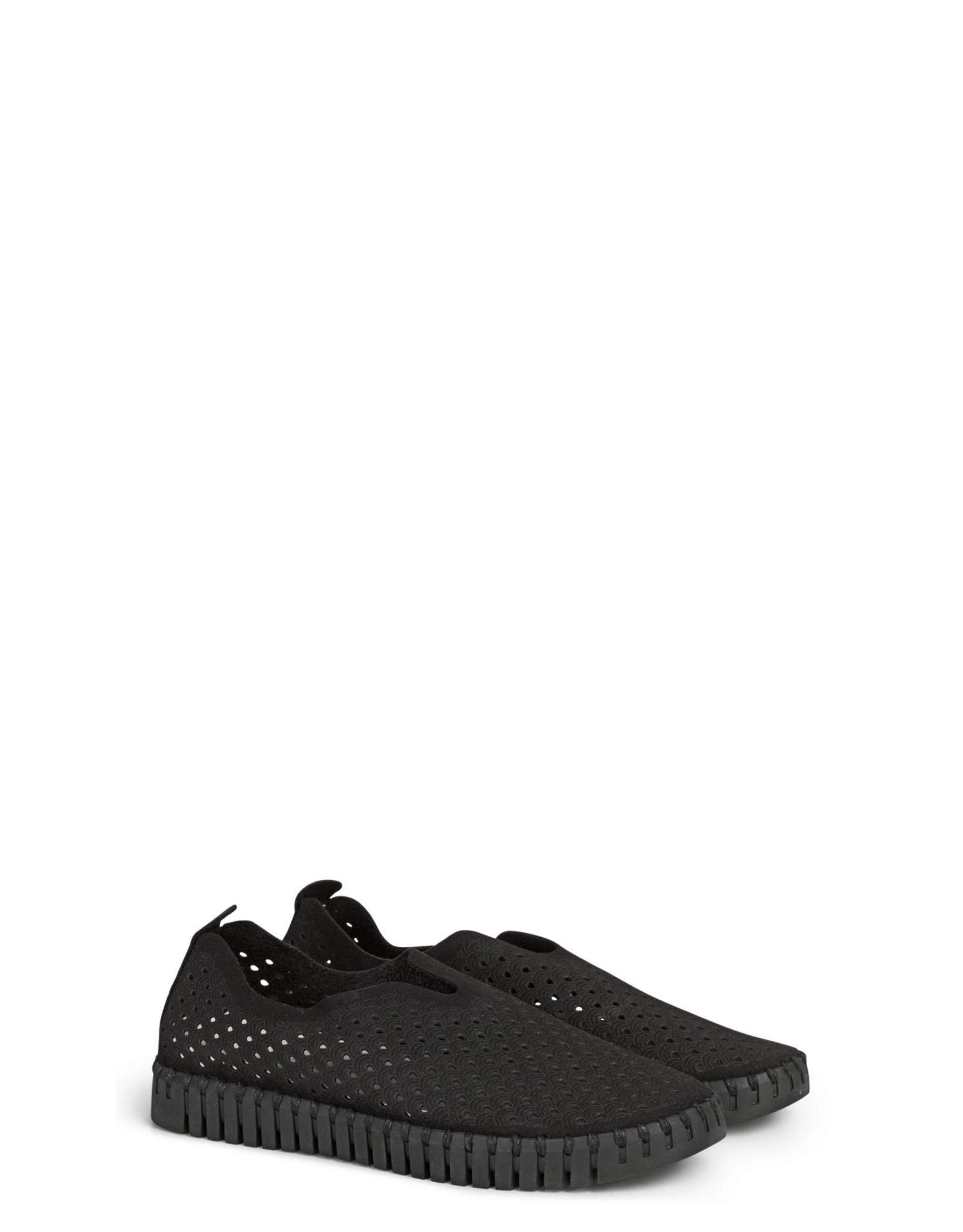 Ilse Jacobsen Ilse Jacobsen Tulip Slip on Flats in Black on Black