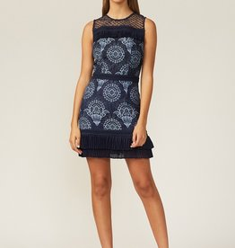 Adelyn Rae Adelyn Rae Aeris Lace & Sheer Dress