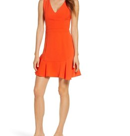 Adelyn Rae Adelyn Rae Taliya Cutout Detail Fit & Flare Dress