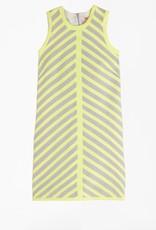 Vilagallo Vilagallo Andres Dress Lime Stripe