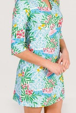 Kaeli Smith Kaeli Smith Luca Lemoncello Love Tunic Dress