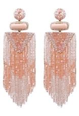 Deepa Gurnani Deepa Gurnani Jody Beaded Chandelier Earrings