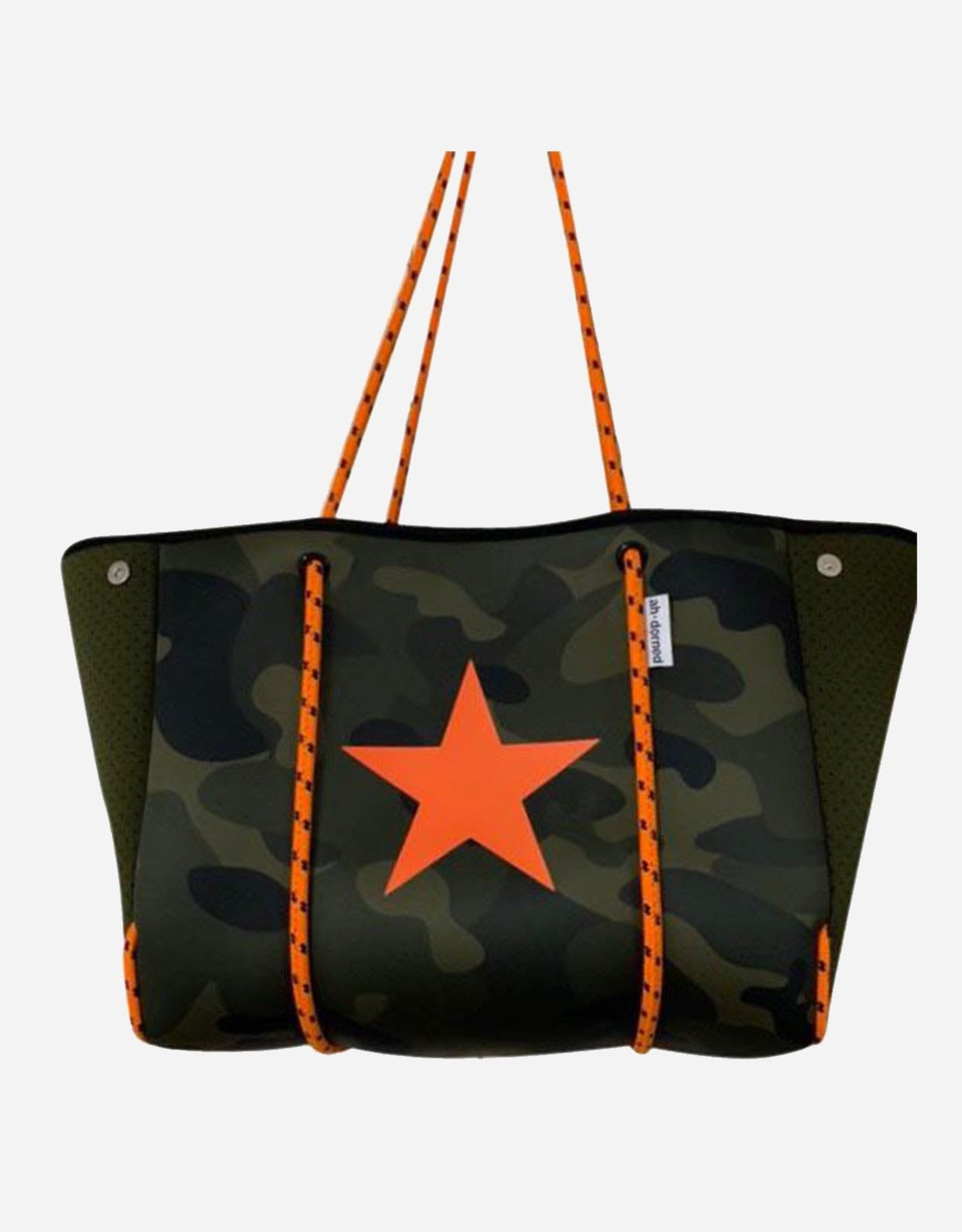 Neoprene Tote in Army Camo