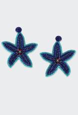 Olivia Dar Beaded Starfish Earrings