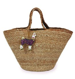 Powder Mila Jute Beach Bag