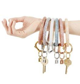 Big O Key Rings / Oventure Silicone Confetti Big O Key Rings