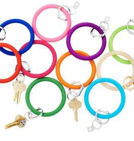 Big O Key Rings / Oventure Silicone Solid Big O Key Rings