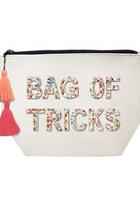 Fallon & Royce Fallon & Royce Embellished Canvas Cosmetic Bags