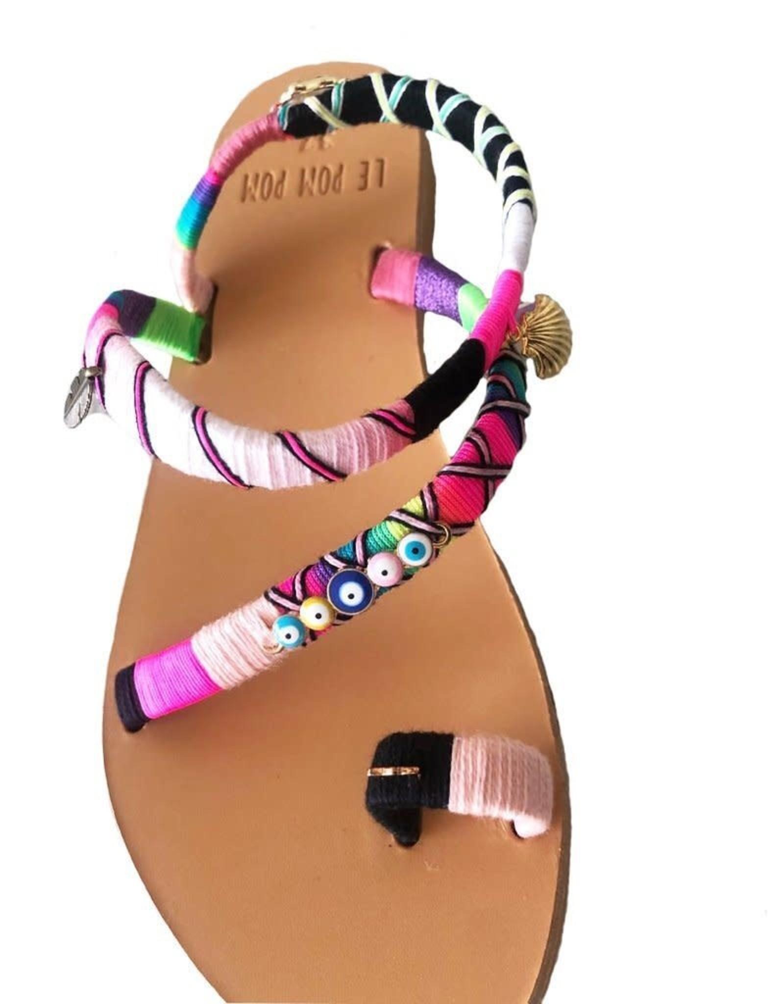 Handmade Arlene Crossover Sandals