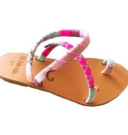 Handmade Greta Crossover Sandals