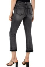 Liverpool Liverpool Shades of Grey Kick Flare Jeans with Let Down Hem