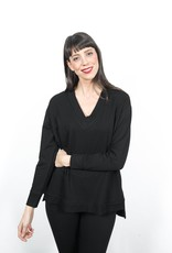 Shannon Passero Shannon Passero Bamboo Fleece V-neck Top