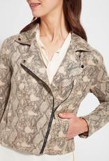 Lysse Lysse Foil Moto Jacket Artic Snake