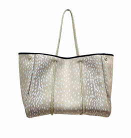 Parker & Hyde Parker & Hyde Champagne Fawn Neoprene Tote