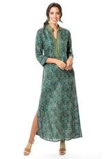 bella tu bella tu Gwenn Emerald Caftan